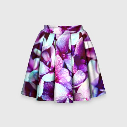 Детская юбка-солнце 3D Цветок