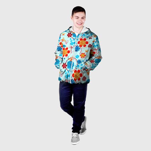 Мужская куртка 3D  Фото 03, Роспись