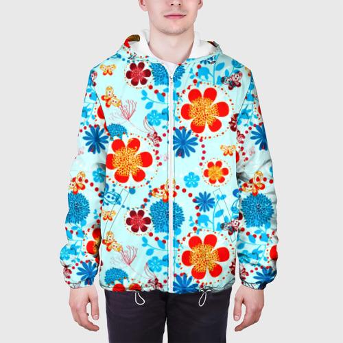 Мужская куртка 3D  Фото 04, Роспись