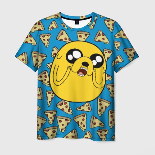Мужская футболка 3D  Фото 01, I LOVE PIZZA