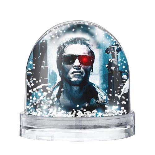 Водяной шар со снегом Терминатор 1