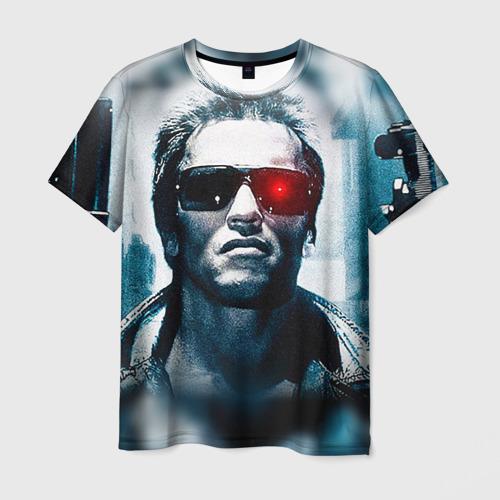 Мужская футболка 3D Терминатор 1