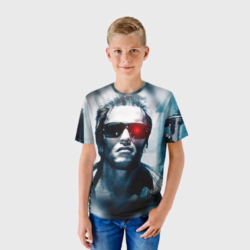 Детская футболка 3D Терминатор 1