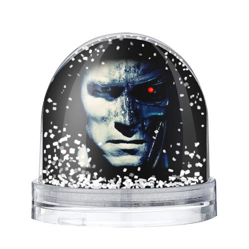 Водяной шар со снегом Терминатор 2