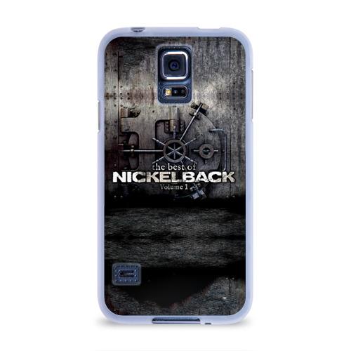 Чехол для Samsung Galaxy S5 силиконовый  Фото 01, Nickelback