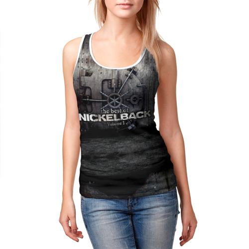 Женская майка 3D  Фото 03, Nickelback