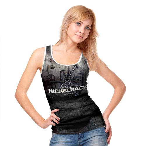 Женская майка 3D  Фото 05, Nickelback
