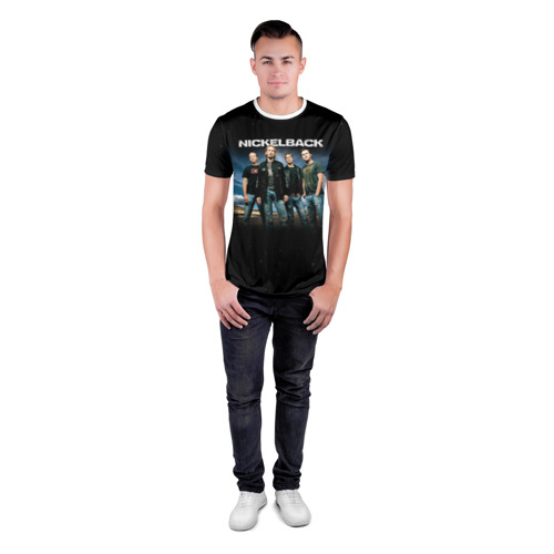 Мужская футболка 3D спортивная  Фото 04, Nickelback