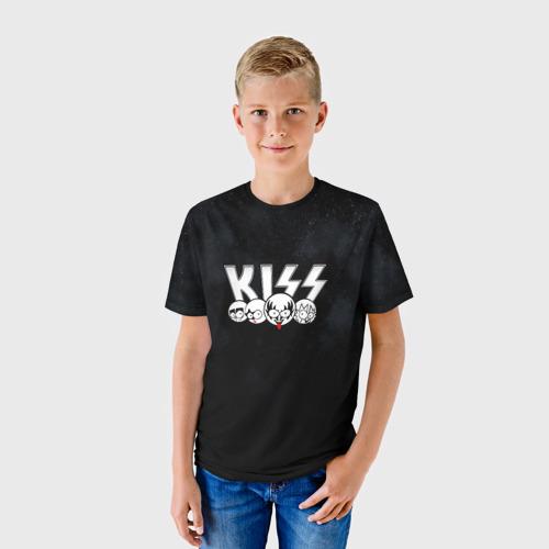 Детская футболка 3D  Фото 01, KISS