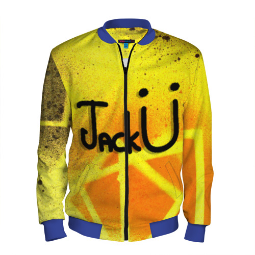 Мужской бомбер 3D Jack U Collection