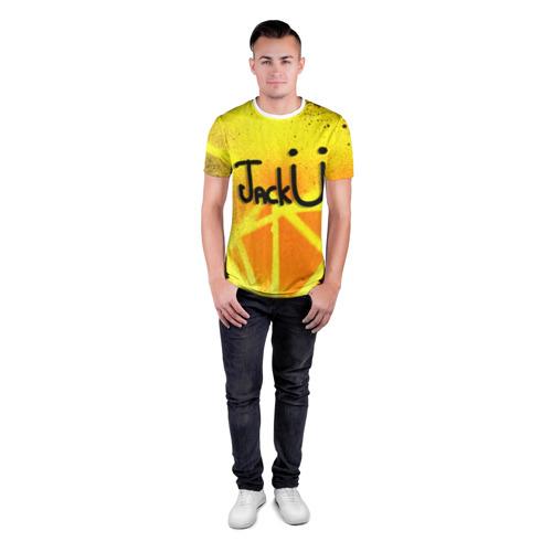 Мужская футболка 3D спортивная  Фото 04, Jack U Collection