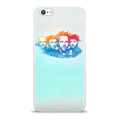 Чехол для Apple iPhone 6Plus/6SPlus силиконовый глянцевый  Фото 01, Coldplay