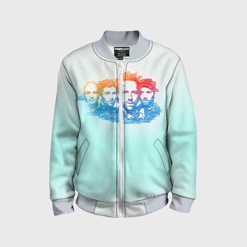 Детский бомбер 3D Coldplay