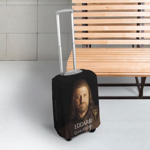 Чехол для чемодана 3D  Фото 03, Эддард Старк