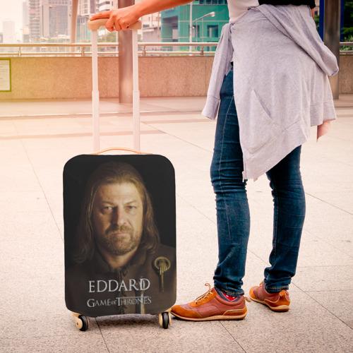 Чехол для чемодана 3D  Фото 04, Эддард Старк