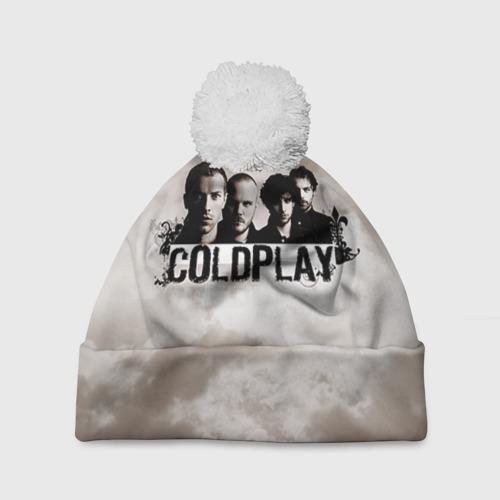 Шапка 3D c помпоном  Фото 01, Coldplay
