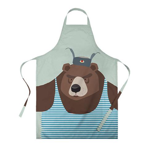 Фартук 3D Русский медведь