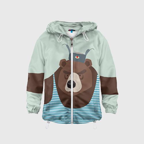 Детская ветровка 3D  Фото 01, Русский медведь