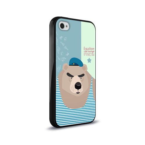 Чехол для Apple iPhone 4/4S силиконовый глянцевый  Фото 02, Вдвшник