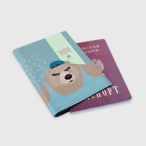 Обложка для паспорта матовая кожа  Фото 03, Вдвшник