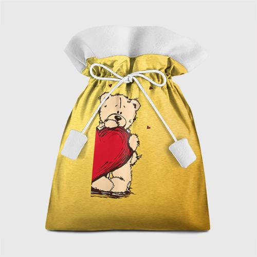 Подарочный 3D мешок Медведи а