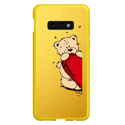 Чехол для Samsung S10E Медведи б Фото 01