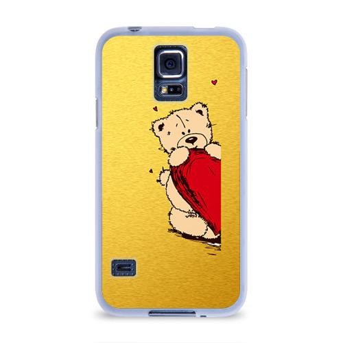 Чехол для Samsung Galaxy S5 силиконовый  Фото 01, Медведи б
