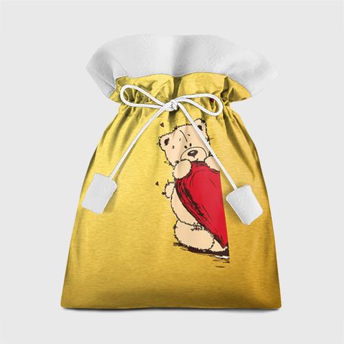 Подарочный 3D мешок Медведи б