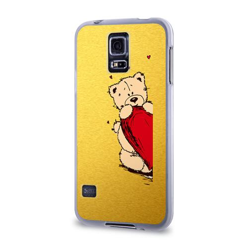 Чехол для Samsung Galaxy S5 силиконовый  Фото 03, Медведи б