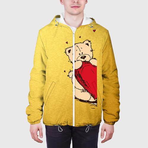 Мужская куртка 3D  Фото 04, Медведи б