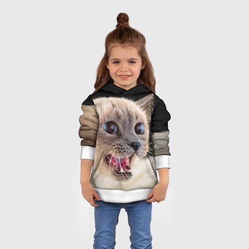 Детская толстовка 3D Кот
