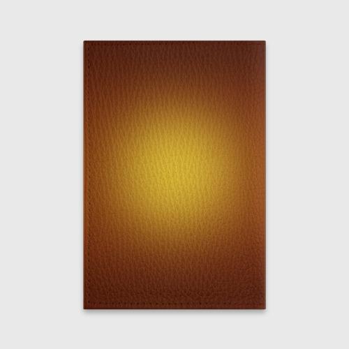 Обложка для паспорта матовая кожа  Фото 02, Бассетхаунд
