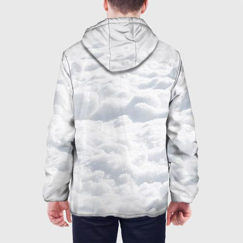Мужская куртка 3D  Фото 05, Снег