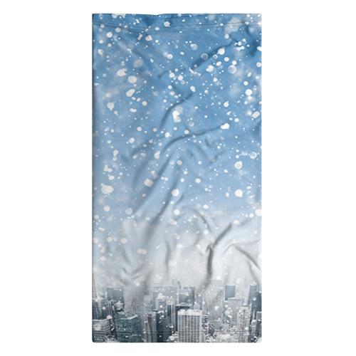 Бандана-труба 3D  Фото 07, Снежный город
