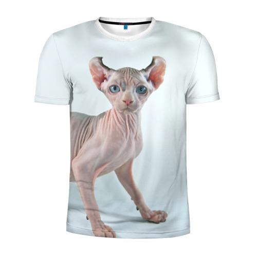 Мужская футболка 3D спортивная  Фото 01, Сфинкс
