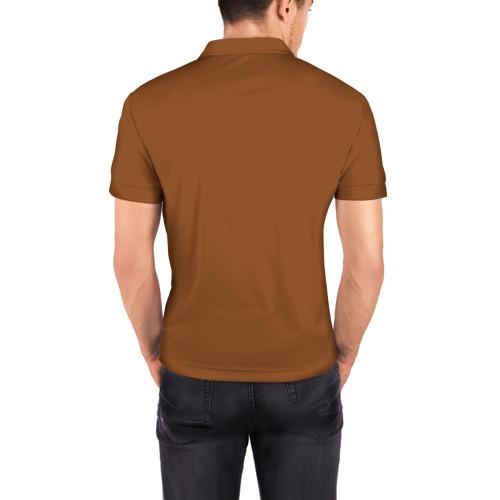 Мужская рубашка поло 3D  Фото 04, Кот