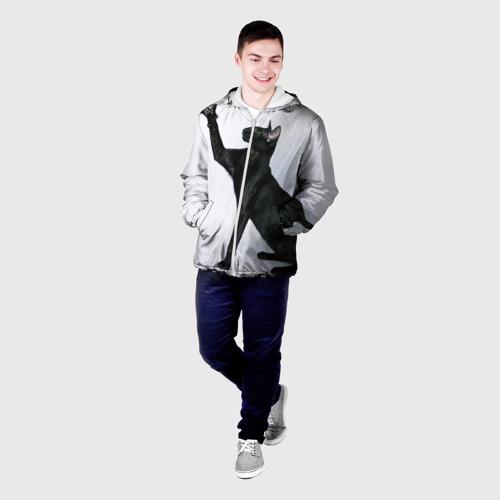 Мужская куртка 3D  Фото 03, Кот