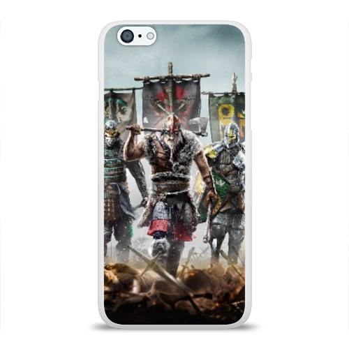 Чехол для Apple iPhone 6Plus/6SPlus силиконовый глянцевый  Фото 01, Warrior