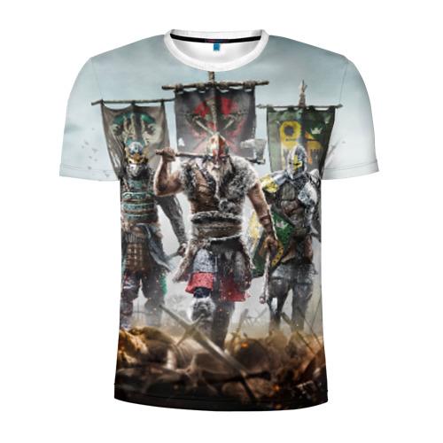 Мужская футболка 3D спортивная  Фото 01, Warrior