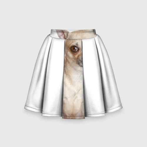 Детская юбка-солнце 3D Чихуахуа