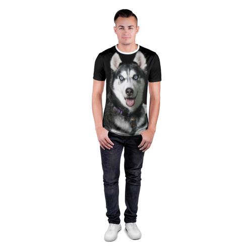 Мужская футболка 3D спортивная  Фото 04, Аляскинский кли кай