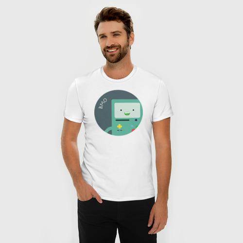 Мужская футболка премиум  Фото 03, BMO