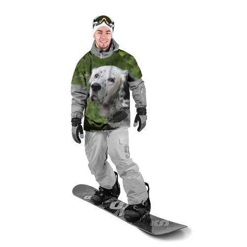 Накидка на куртку 3D  Фото 03, Английский сеттер