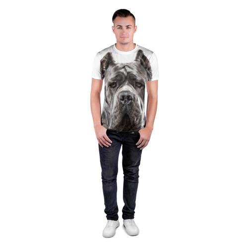Мужская футболка 3D спортивная  Фото 04, Канне корсо