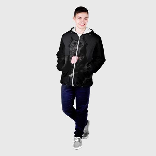 Мужская куртка 3D  Фото 03, Канне корсо