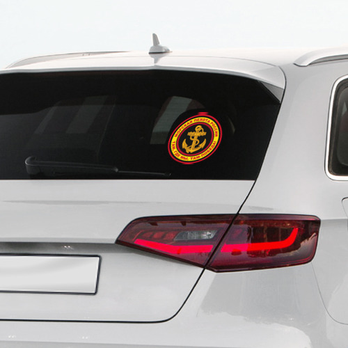 Наклейка на автомобиль Морская пехота Фото 01