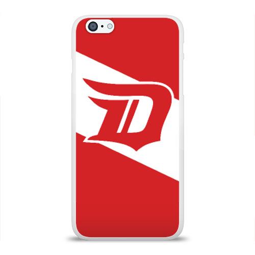 Чехол для Apple iPhone 6Plus/6SPlus силиконовый глянцевый  Фото 01, Detroit Red Wings D