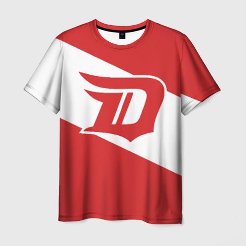Мужская футболка 3D Detroit Red Wings D