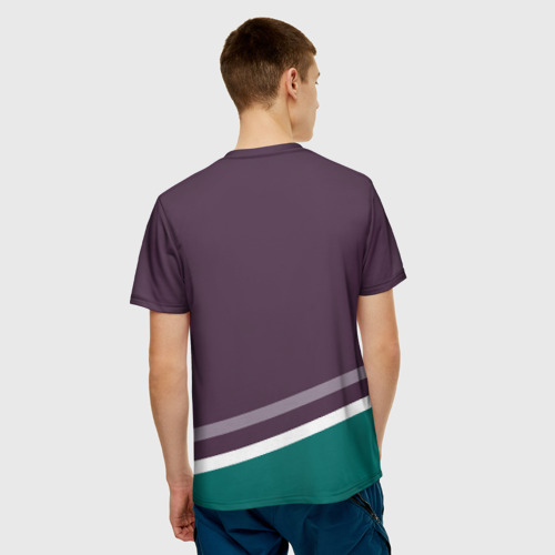 Мужская футболка 3D Anaheim Ducks Selanne