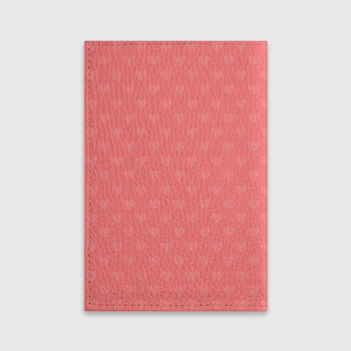 Обложка для паспорта матовая кожа  Фото 02, Влюбленные пингвины